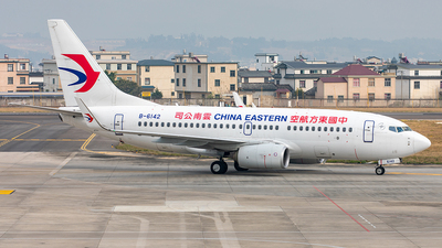 A picture of B6142 - Boeing 73779P - China Eastern Airlines - © Yan Shuai