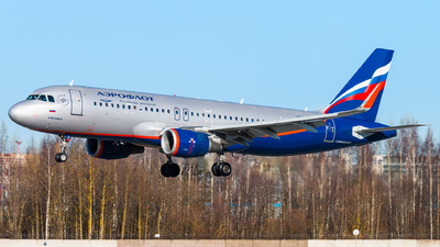 A picture of VPBJA - Airbus A320214 - Aeroflot - © KomradAlexey