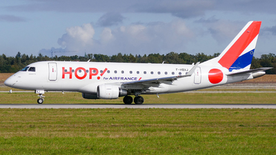 F-HBXJ - Embraer 170-100STD - HOP! for Air France