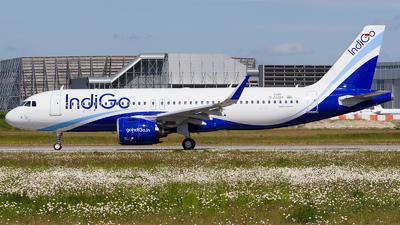 D-AUBX - Airbus A320-271N - IndiGo Airlines