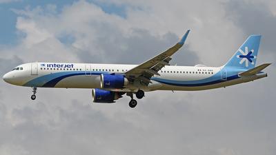 XA-DBR - Airbus A321-251N - Interjet