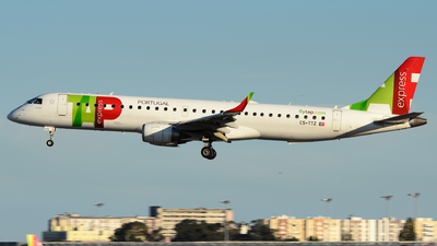 CS-TTZ - Embraer 190-200IGW - TAP Express