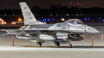 86-0318 - General Dynamics F-16C Fighting Falcon - United States - US Air Force (USAF)