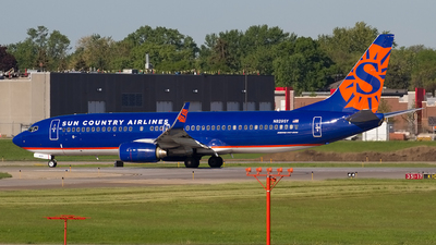 N829SY - Boeing 737-8F2 - Sun Country Airlines