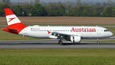 OE-LBX - Airbus A320-214 - Austrian Airlines
