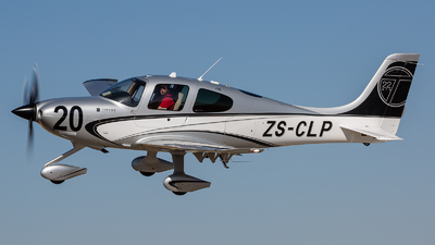 ZS-CLP - Cirrus SR22T - Private