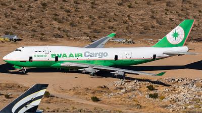 N492CS - Boeing 747-45E(BDSF) - Eva Air Cargo