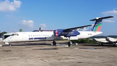 A picture of S2AGW - De Havilland Canada Dash 8400 - USBangla Airlines - © Dipu Sarker