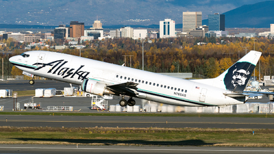 N765AS - Boeing 737-4Q8(C) - Alaska Airlines