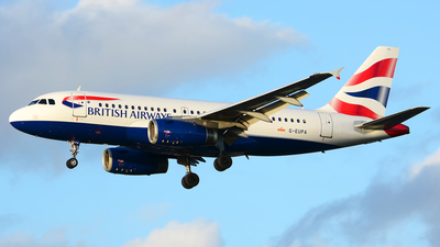A picture of GEUPA - Airbus A319131 - British Airways - © Stefan Alexandru