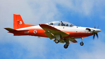 9107 - Pilatus PC-21 - Singapore - Air Force