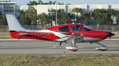 N105HC - Cirrus SR22T-GTS G6 Carbon - Private