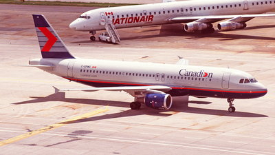 C-GPWG - Airbus A320-211 - Canadian Airlines International