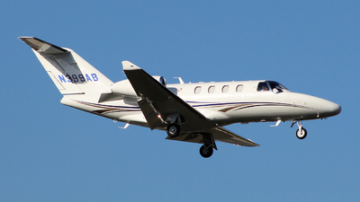 A picture of N399AB - Cessna 525 Citation M2 - [5250990] - © wangruoyao