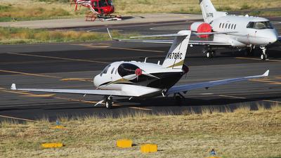 N878RC - Cessna 525 CitationJet M2 - Private