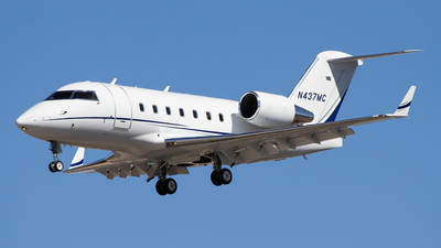 N437MC - Bombardier CL-600-2B16 Challenger 601-3A - Private