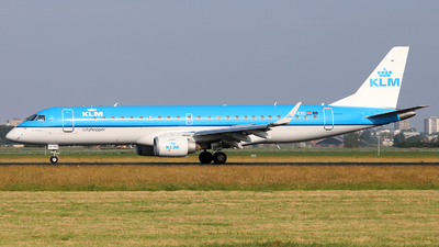 PH-EXC - Embraer 190-100STD - KLM Cityhopper