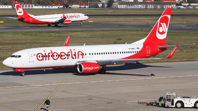 D-ABKO - Boeing 737-86J - Air Berlin