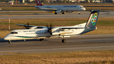 SX-OBC - Bombardier Dash 8-Q402 - Olympic Air