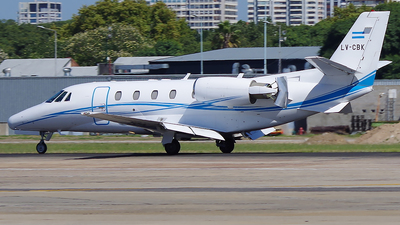 LV-CBK - Cessna 560XL Citation Excel - Private