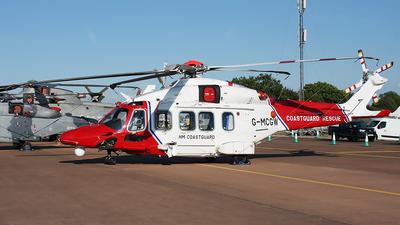 G-MCGW - Agusta-Westland AW-189 - United Kingdom - Coast Guard