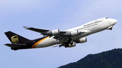 N582UP - Boeing 747-4R7F(SCD) - United Parcel Service (UPS)