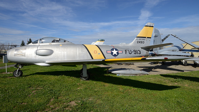 52-4913 - North American RF-86F Sabre - United States - US Air Force (USAF)