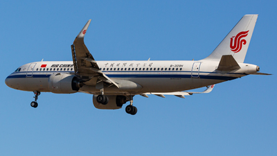 A picture of B309H - Airbus A320271N - Air China - © YINGFEI YU