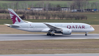 A picture of A7BCG - Boeing 7878 Dreamliner - Qatar Airways - © Lorenz Kafenda