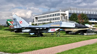 4115 - Mikoyan-Gurevich MiG-29UB Fulcrum B - Poland - Air Force