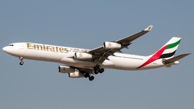 A6-ERO - Airbus A340-313X - Emirates