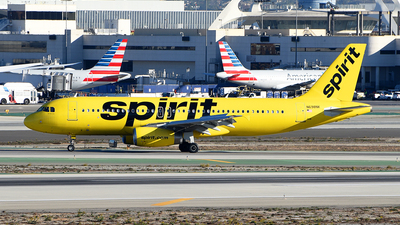 A picture of N698NK - Airbus A320232 - Spirit Airlines - © Rocky Wang