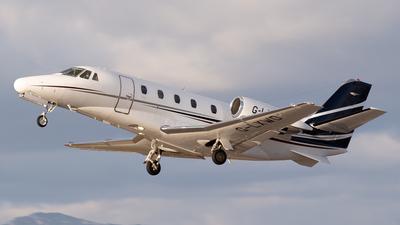G-LXWD - Cessna 560XL Citation XLS - Private