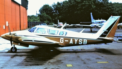 A picture of GAYSB - Piper PA30 Twin Comanche - [301916] - © Glyn Charles Jones