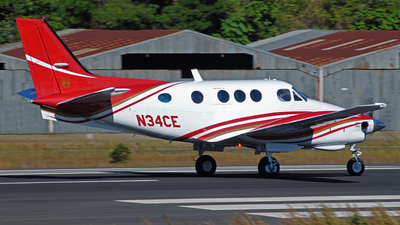 N34CE - Beechcraft C90 King Air - Private