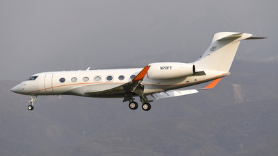 N70FT - Gulfstream G500 - Private