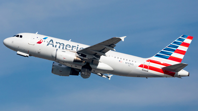 A picture of N769US - Airbus A319112 - American Airlines - © HAOFENG YU