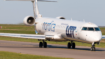 ES-ACH - Bombardier CRJ-900ER - LOT Polish Airlines (Nordica)