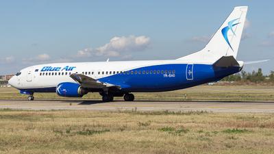 YR-BAO - Boeing 737-42C - Blue Air