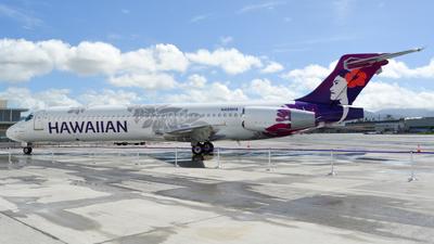 N488HA - Boeing 717-2BD - Hawaiian Airlines