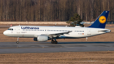 A picture of DAIZB - Airbus A320214 - Lufthansa - © KomradAlexey