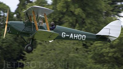 G-AHOO - De Havilland DH-82 Tiger Moth - Private