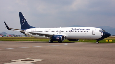 EI-GIM - Boeing 737-86Q - Blue Panorama Airlines