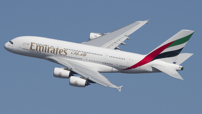A6-EUE - Airbus A380-861 - Emirates