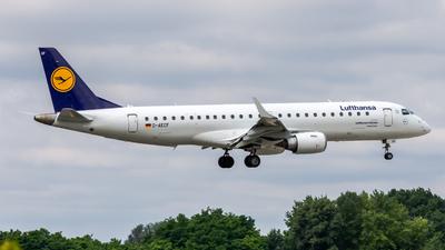 A picture of DAECF - Embraer E190LR - Lufthansa - © Peter Tolnai