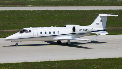 VP-CRB - Bombardier Learjet 60 - Private