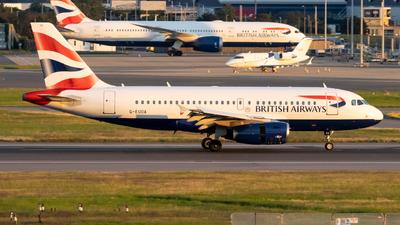 G-EUOA - Airbus A319-131 - British Airways