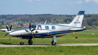 HB-LRV - Piper PA-31T Cheyenne II - Private
