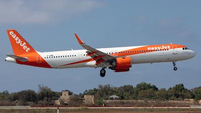 G-UZME - Airbus A321-251NX - easyJet