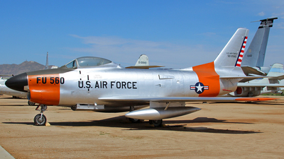 50-0560 - North American F-86L Sabre - United States - US Air Force (USAF)